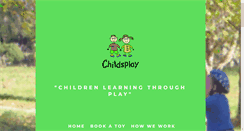 Preview of childsplay.org.nz